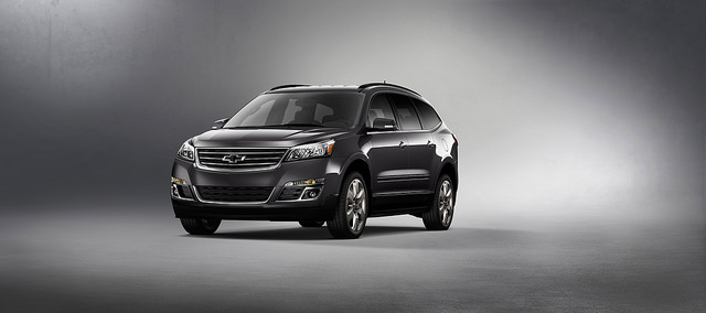2017 Chevy Traverse Graphite Edition